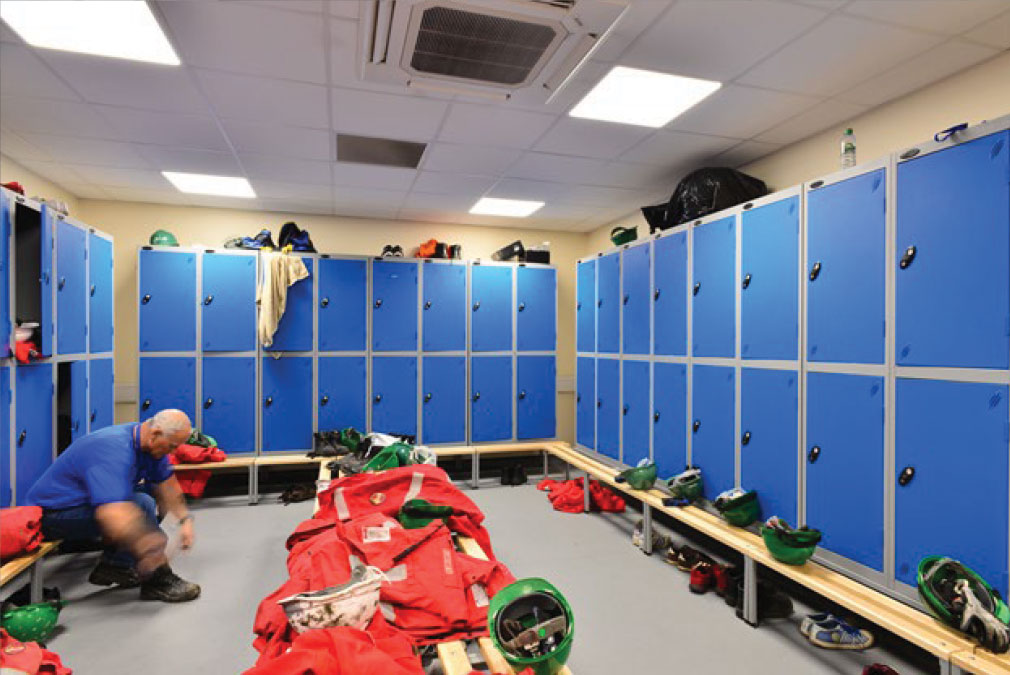 CATS Changing Room